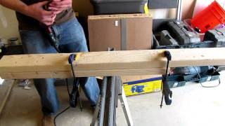 Building A Diy Workbench - Part 1 - By Ed
