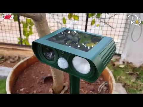 Ultrasonic Solar Powered Animal/Rodent Repeller