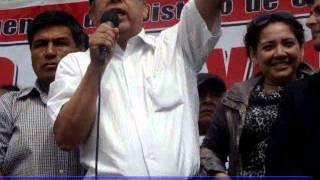 Dirigentes del distrito de Carabayllo respaldan a su Alcalde