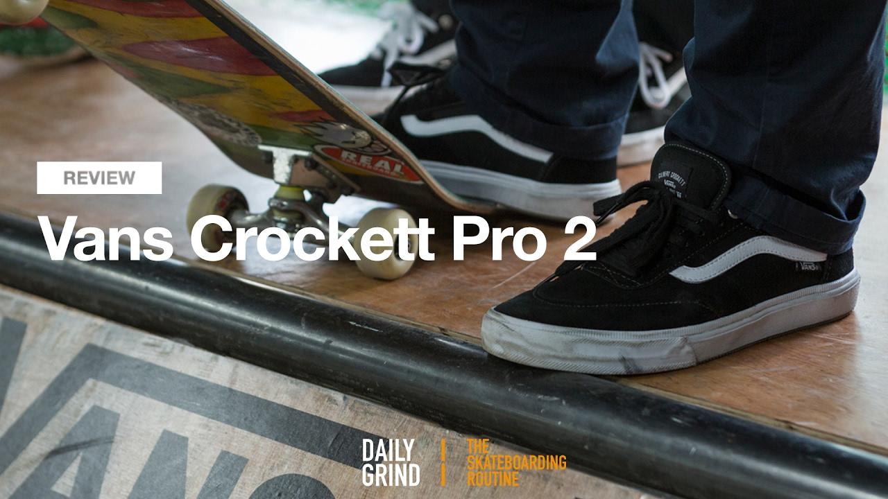 REVIEW: Vans Gilbert Crocket Pro 2 [Daily Grind Skateboard Magazine] [데일리그라인드 스케이트보드 매거진]