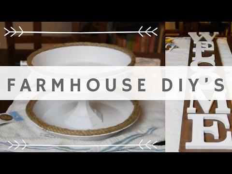 EASY DIY FARMHOUSE DECOR PROJECTS | FARMHOUSE DECOR | DIY FARMHOUSE DECOR