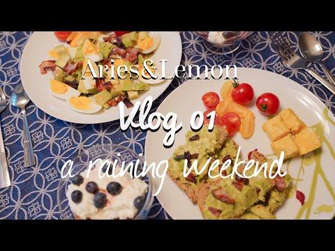 vlog-01-keto-breakfast,-fridge-organizing,-grocery-shopping-|a-weekend-in-november-生酮早餐、买菜做饭