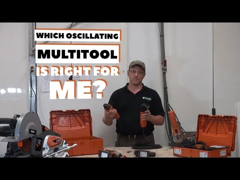 TOOL TALK - Which FEIN Oscillating MultiTool is right for me?