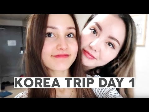 Korea Trip 2017 Day 1 ⎮ Airbnb tour, Myeongdong and exploring