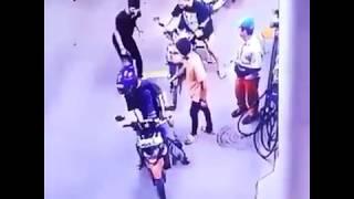 Nekat Buka Celana di SPBU Terekam CCTV
