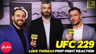 REACTION | Luke Thomas on UFC 229, Khabib's Win, Post-Fight Brawl