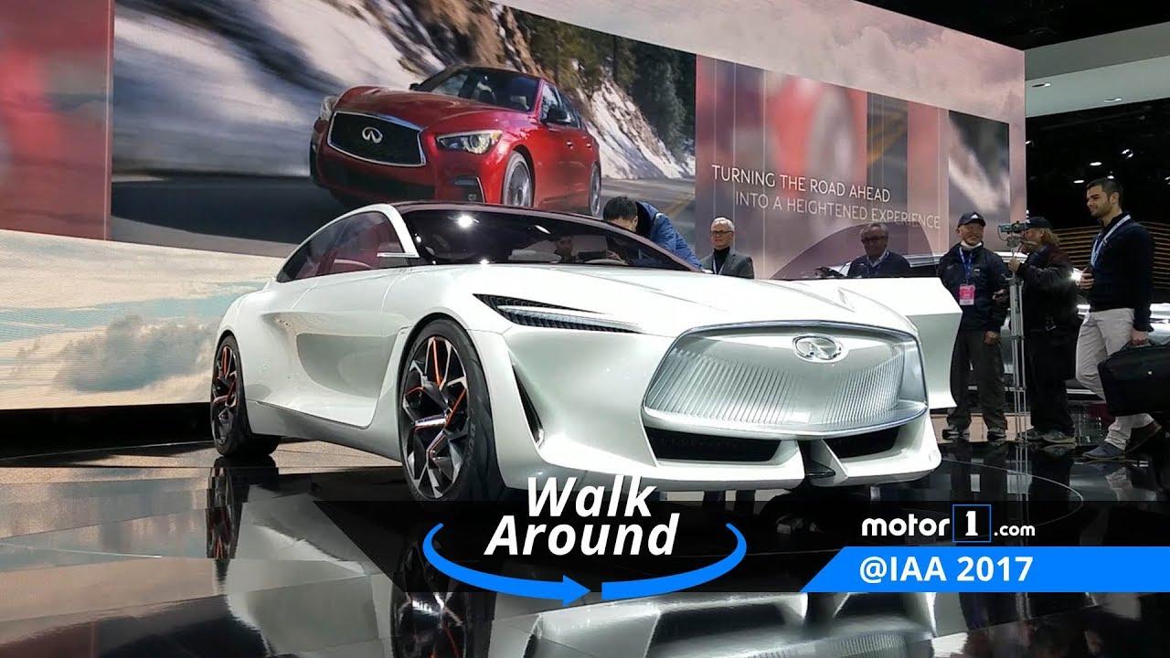 Infiniti Q Inspiration Concept 2018 Detroit Auto Show