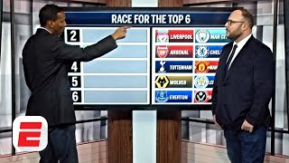 Premier League top 6 race: Who makes the grade behind Liverpool? | ESPN FC