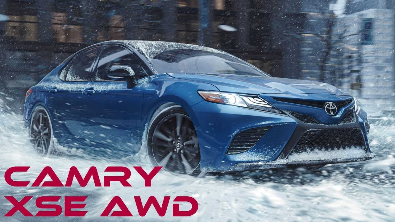 2021 toyota camry xse awd  the once traditional sedan