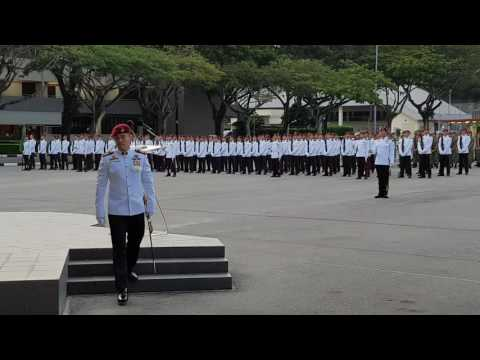 Singapore Commando - ORD Parade @ Hendon Camp (SAF 1st Commando Battalion) 3rd June 2016
