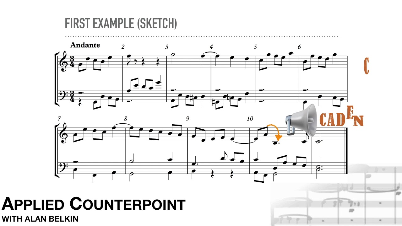 Counterpoint # 13 - Motives and Imitation