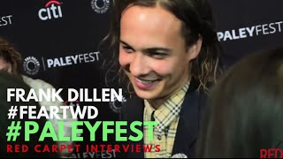 Frank Dillane at the 33rd Annual PaleyFest event for AMC's Fear The Walking Dead #FearTWD