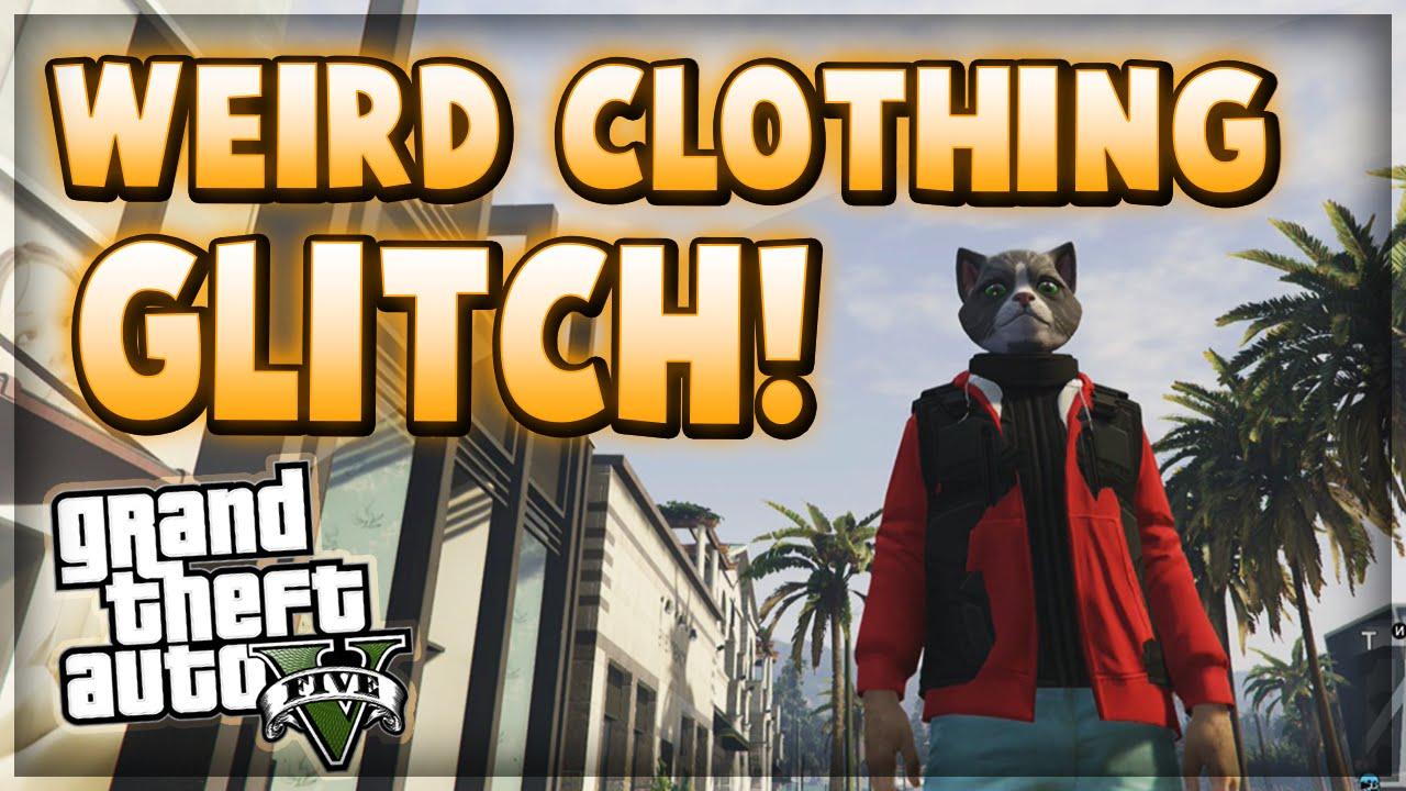 GTA 5 Online Glitches - Funny Clothing Glitch/Weird Appearance Glitch! - YouTube