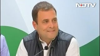 Assembly Election Results 2018: Rahul Gandhi On State Wins
