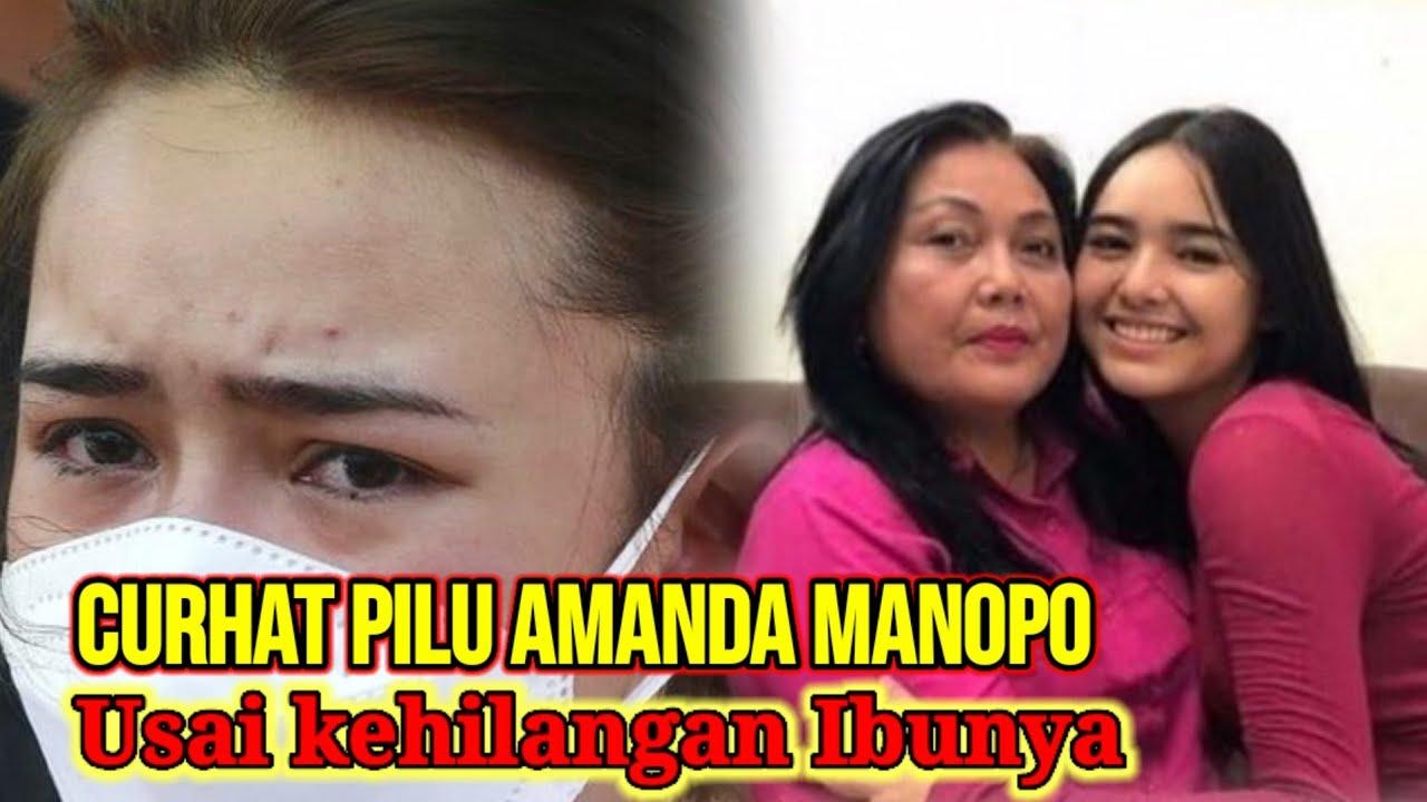Curhat Pilu Amanda Manopo Usai Kehilangan Ibunya