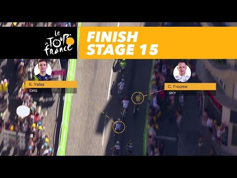 Froome vs Yates - Stage 15 - Tour de France 2017