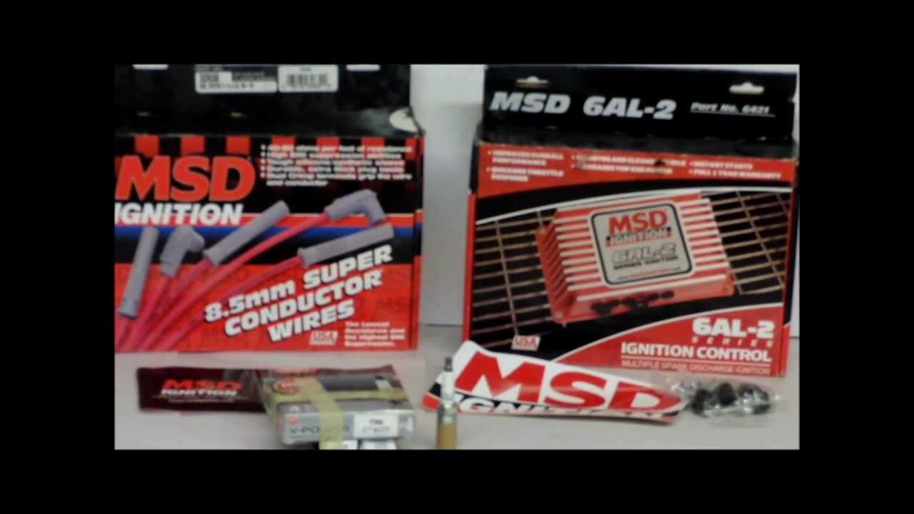 Msd Btm Install 1997 Vw Jetta Fuel Pump Wiring Diagram 6al 2 Step Rev Limiter Launch Control 4 6 8 Cylinders Multiple Spark Youtube
