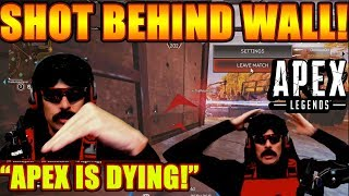 DrDisrespect ALMOST QUITS Streaming After He's Shot Behind Cover In Apex! + No New Content Rant! thumbnail