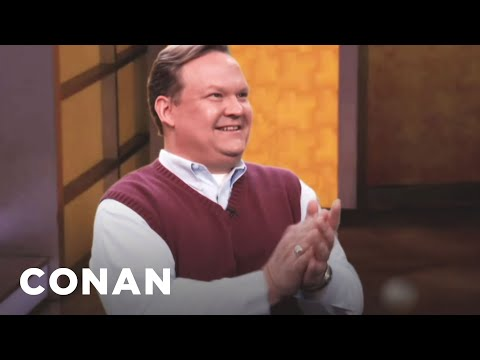 Andy Richter To Replace Retiring Talk Show Legend - YouTube