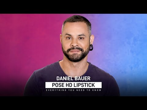 POSE HD Lipstick Review with Celebrity Makeup Artist Daniel Bauer | MyGlamm