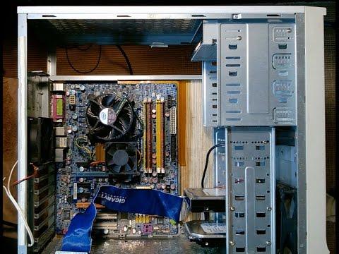 Уменьшение вибрации и шума системного блока компьютера.