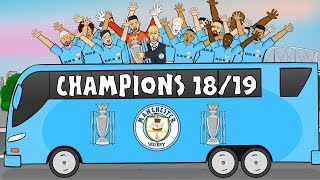 🏆MAN CITY CHAMPIONS!🏆 Who Won the League? City! City! 2018-2019