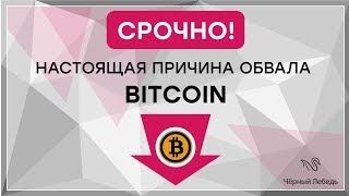 Срочно! Настоящая причина обвала Bitcoin! Не верьте СМИ, они лгут!