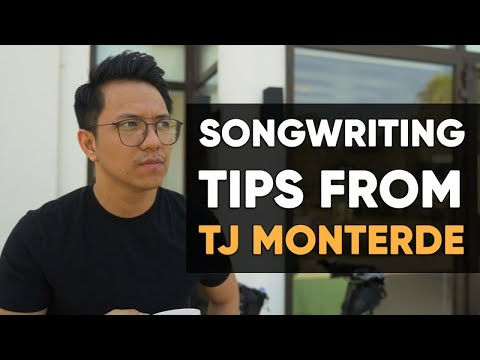 Tj Monterde – Songwriting Tips