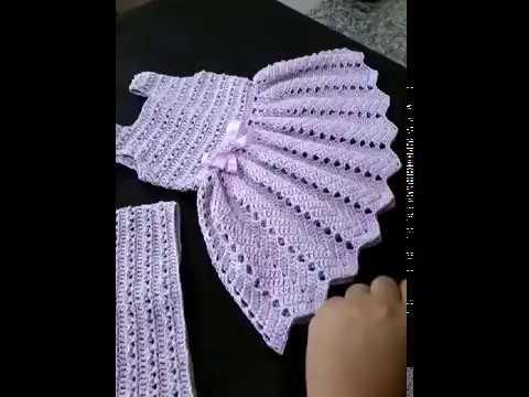 2 Parte Do Vestido De Crochê Eliete Massi