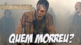 Trailer da setima temporada de walking dead saiu, quem será que morreu?