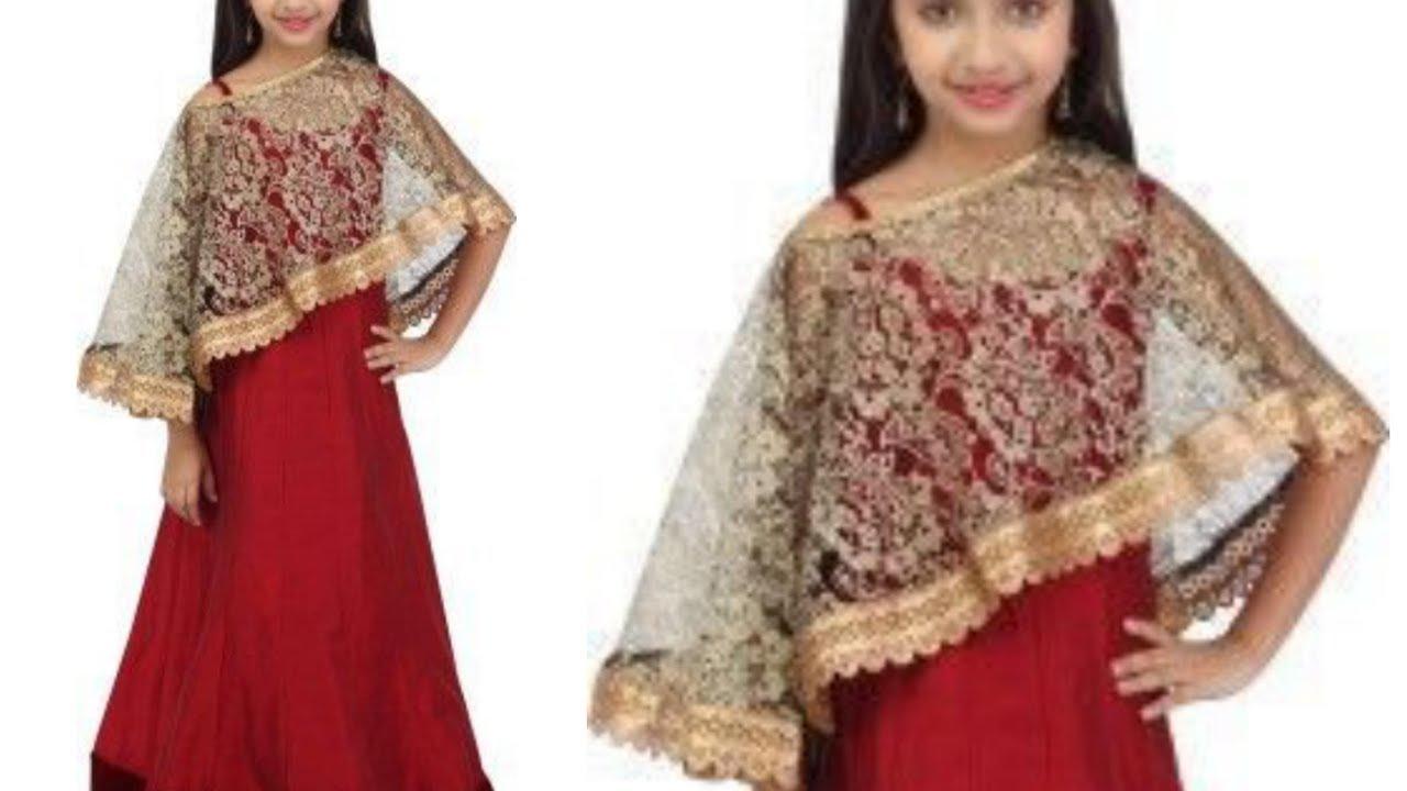 Designer Cape Top Cutting Amp Stitching Diy Eid Special