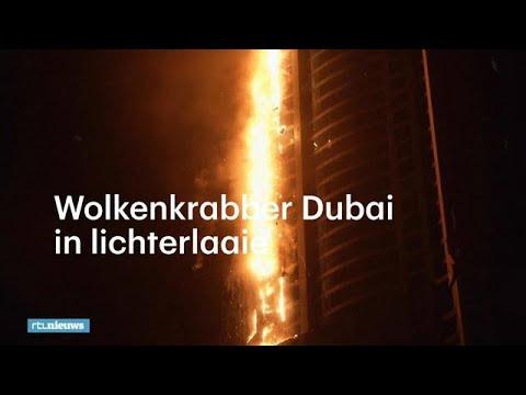 Enorme brand in woontoren Dubai onder controle - RTL NIEUWS
