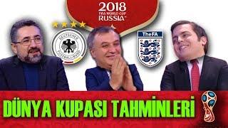 Dünya Kupası Favorisi Kim? Kırmızı Çizgi, RUSYA 2018 Değerlendirdi. İsimVerme! Süpermen