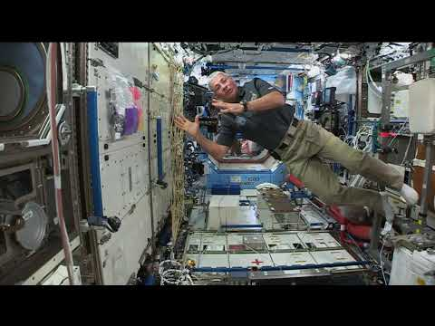 Space Station Crew Member Discusses His First Days in Space with Minnesota Students