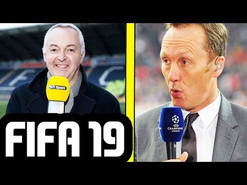FIFA 19 NEW COMMENTARY BY DEREK RAE & LEE DIXON - FIFA 19 GAMEPLAY