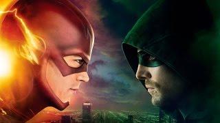 Флэш против Стрелы Flash vs Arrow 2
