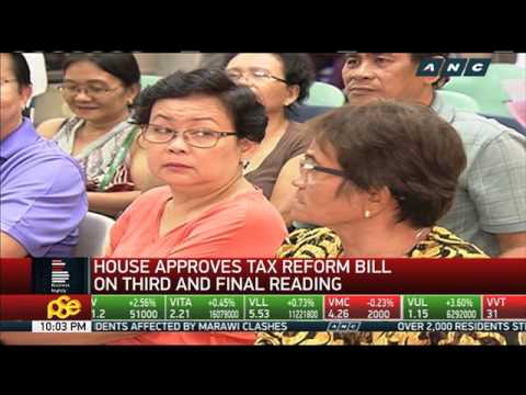 Lower House approves tax reform bill