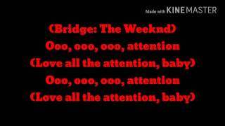 The Weeknd - Attention Lyrics
