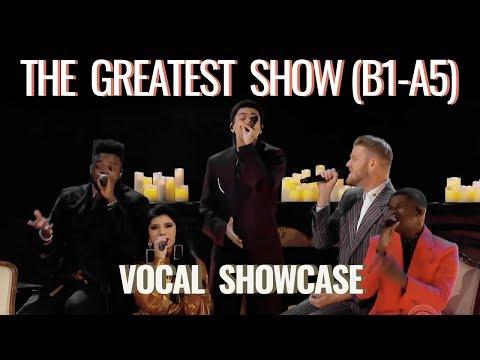 "Pentatonix - ""The Greatest Show"" Vocal Showcase B1-A5 (Studio)"