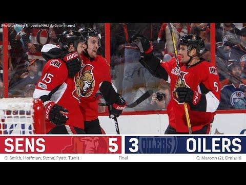 Jan 8: Sens vs. Oilers - Post-game Media