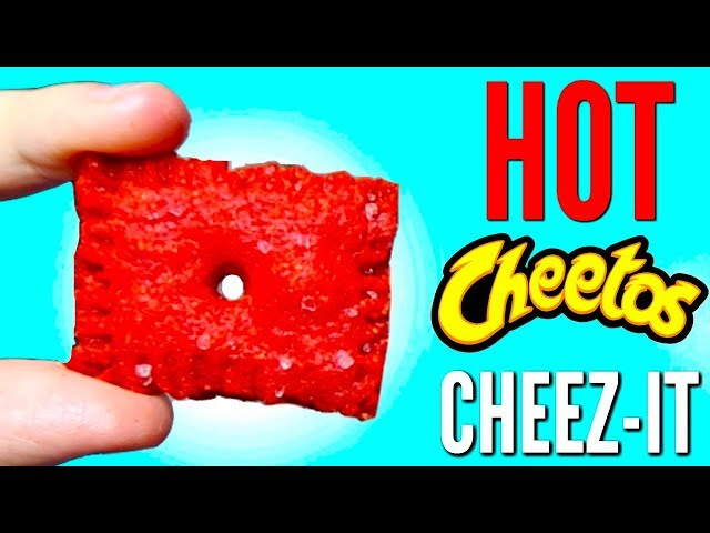 FLAMIN HOT CHEEZ-IT | How To Make Hot Cheetos Cheez-Its