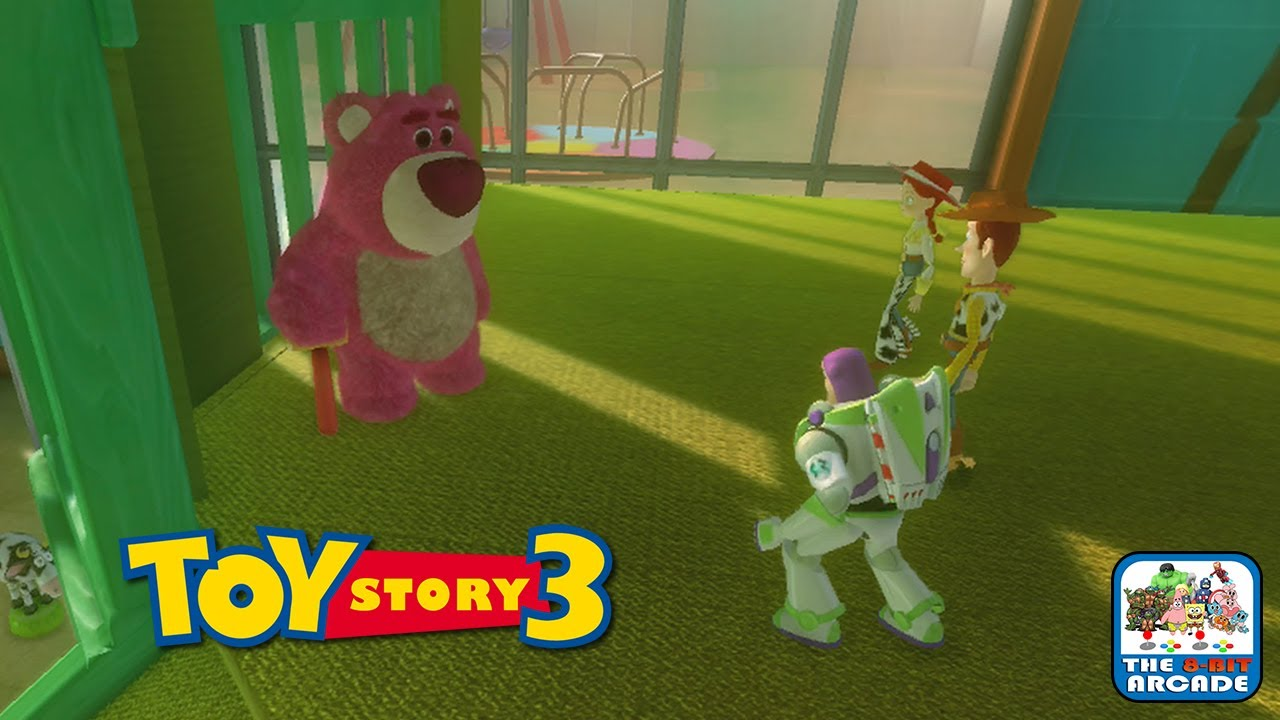 Toy Story 3 Sunnyside Daycare : Toy story the video game lotso runs sunnyside daycare
