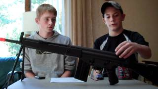 JG T3 SG-1 Airsoft Rifle Review