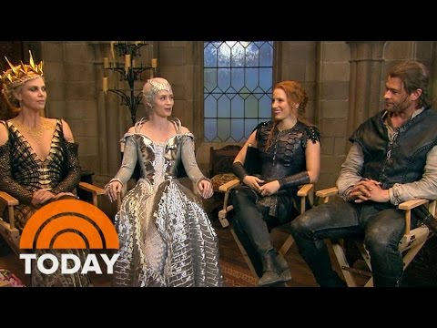 Get A Sneak Peek Behind The Scenes Of 'The Huntsman' | TODAY