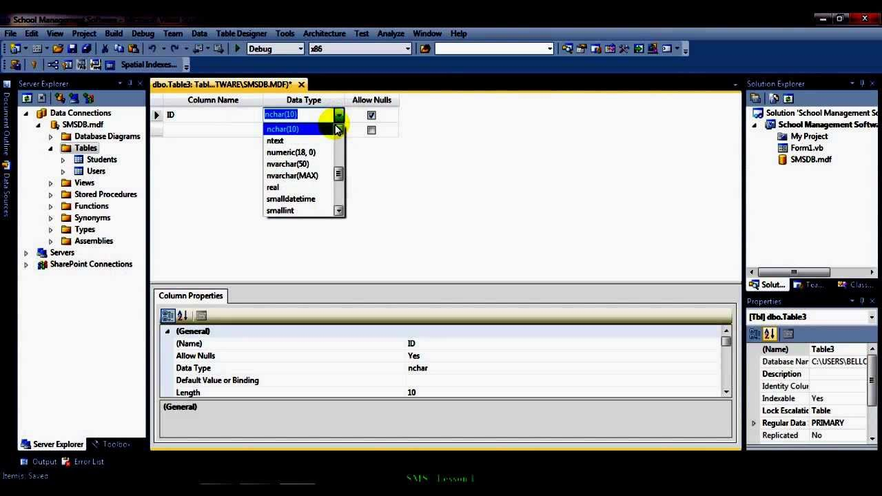 Creating A School Management Software Part 1 Youtube