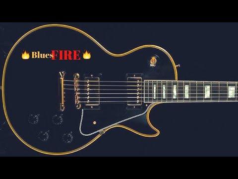 G Blues FIRE   Epic Shuffle Backing Jam Track
