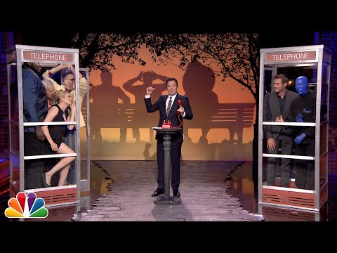 Phone Booth with Hugh Jackman and Shaquille O\'Neal
