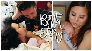 MY LABOR & DELIVERY STORY   FAILED EPIDURAL + 4TH DEGREE TEAR