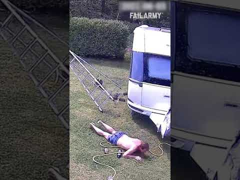 At least the trailer is clean 🤣 #FailArmy