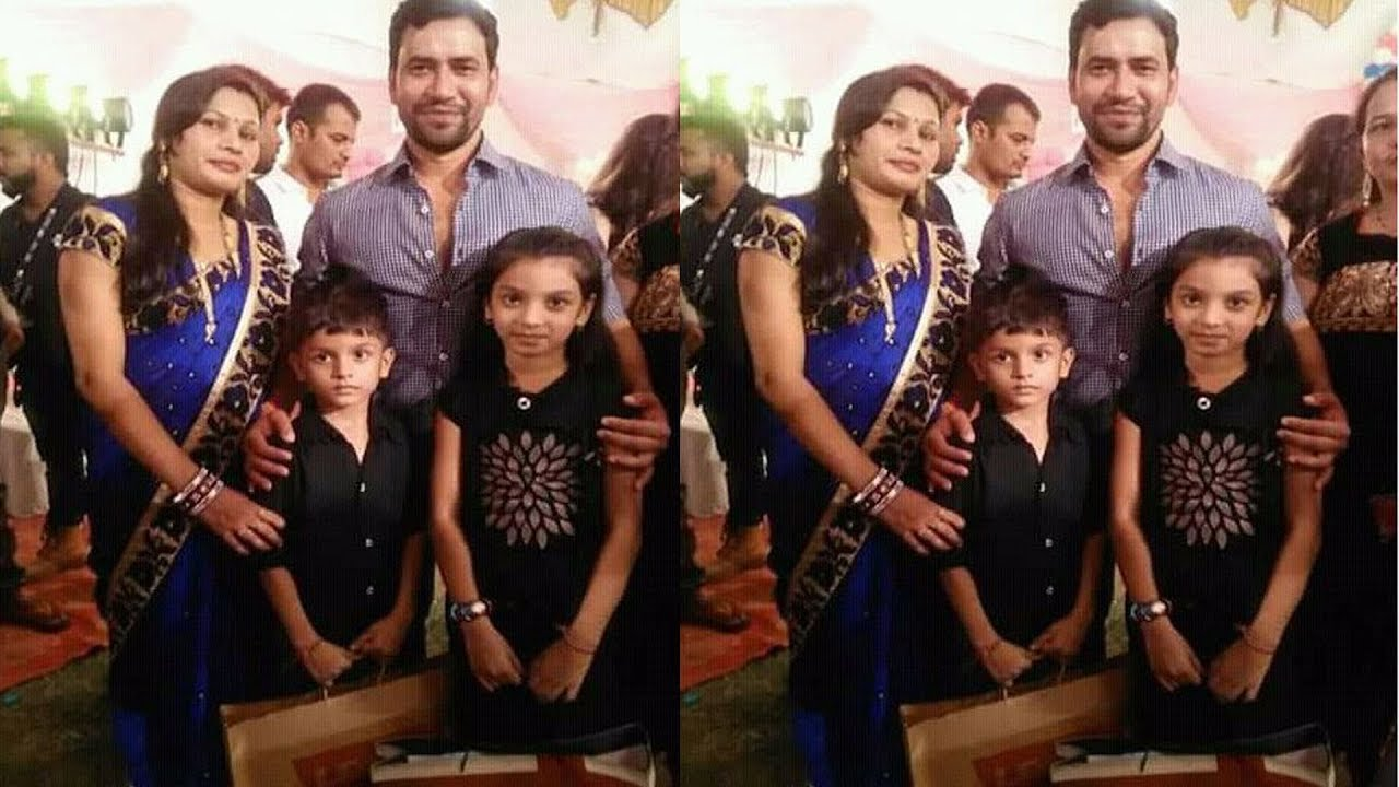Image result for Dinesh Lal yadav (दिनेश लाल यादव 'निरहुआ) Wife Name Family Photo WallPaper Images
